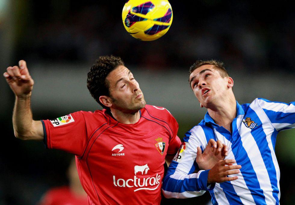 La Real Sociedad de Carlos Vela no pudo ante el Osasuna