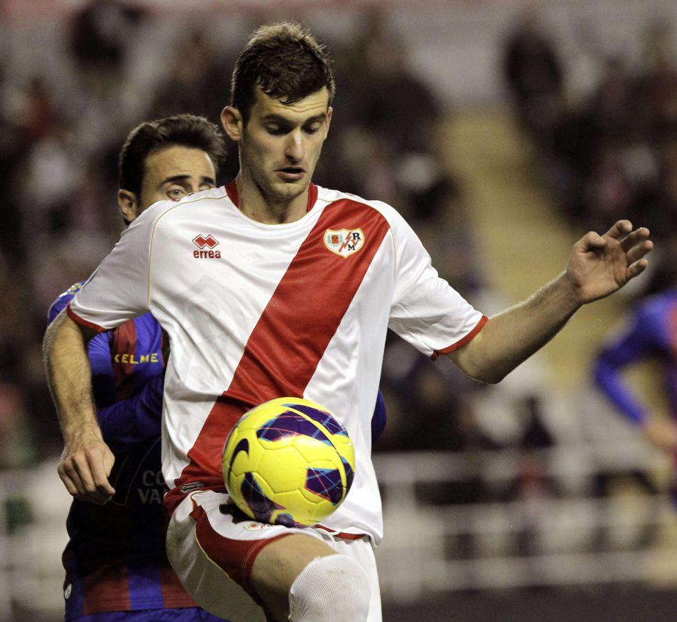 """""""Fue increíble mi primer partido en Vallecas"""""""