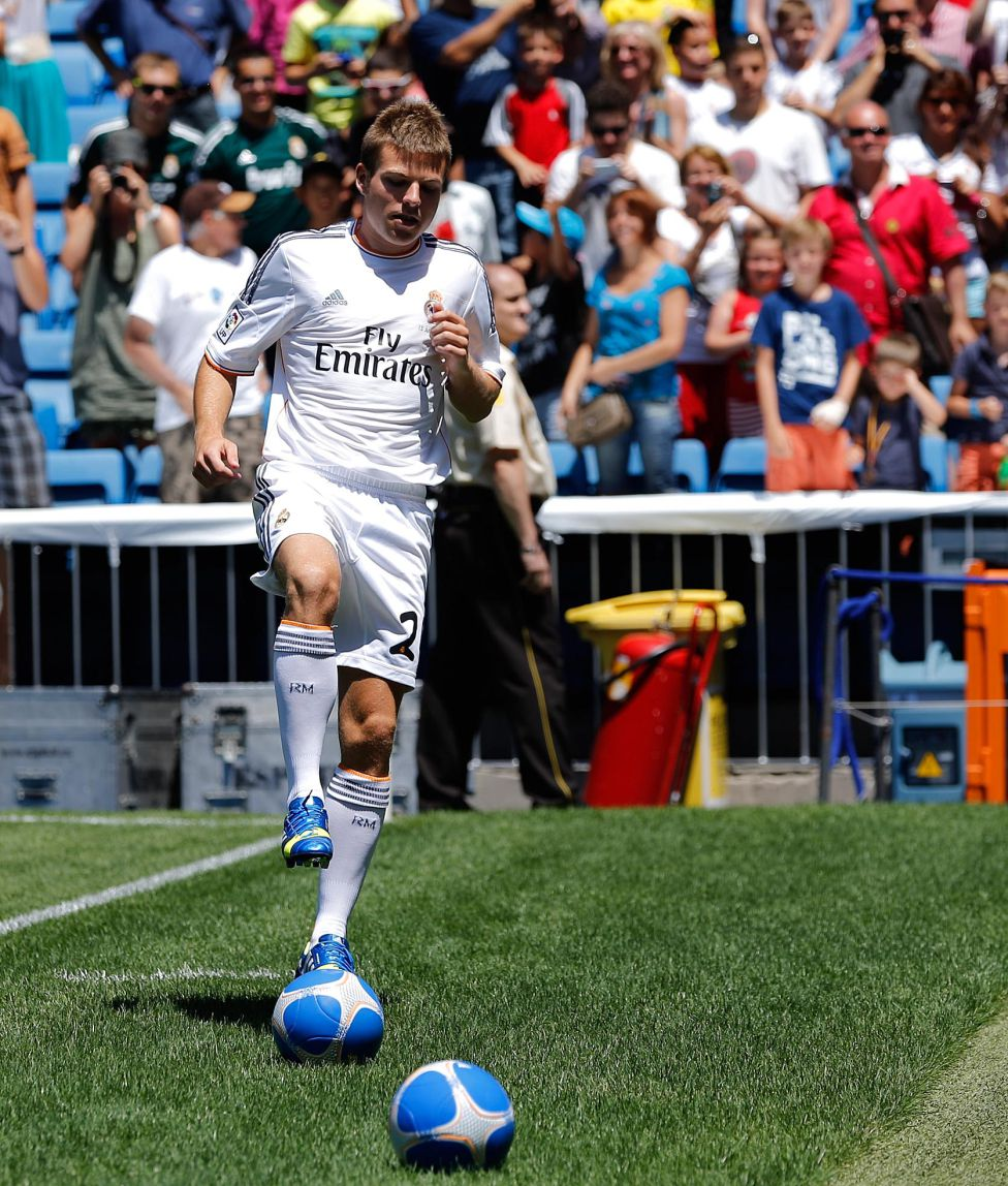 بازیکن جدید رئال مادرید