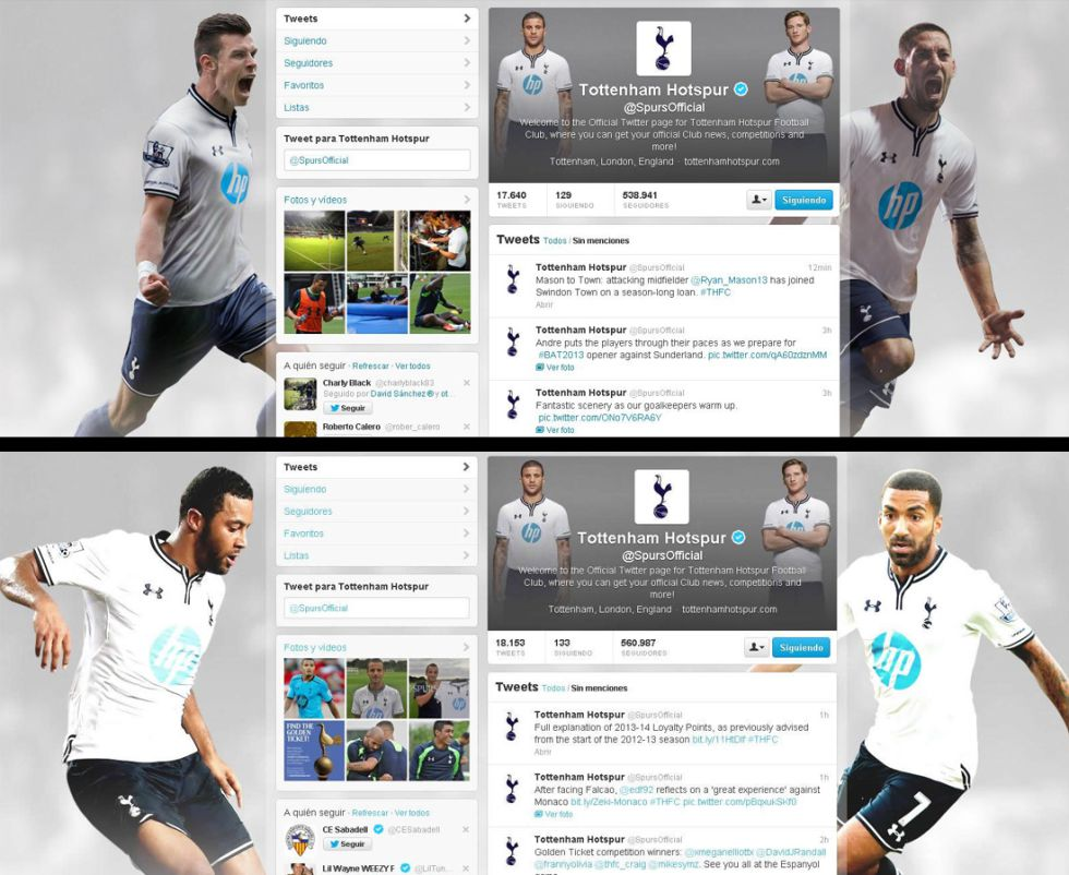 Tottenham remove Gareth Bale from their official Twitter page [AS]