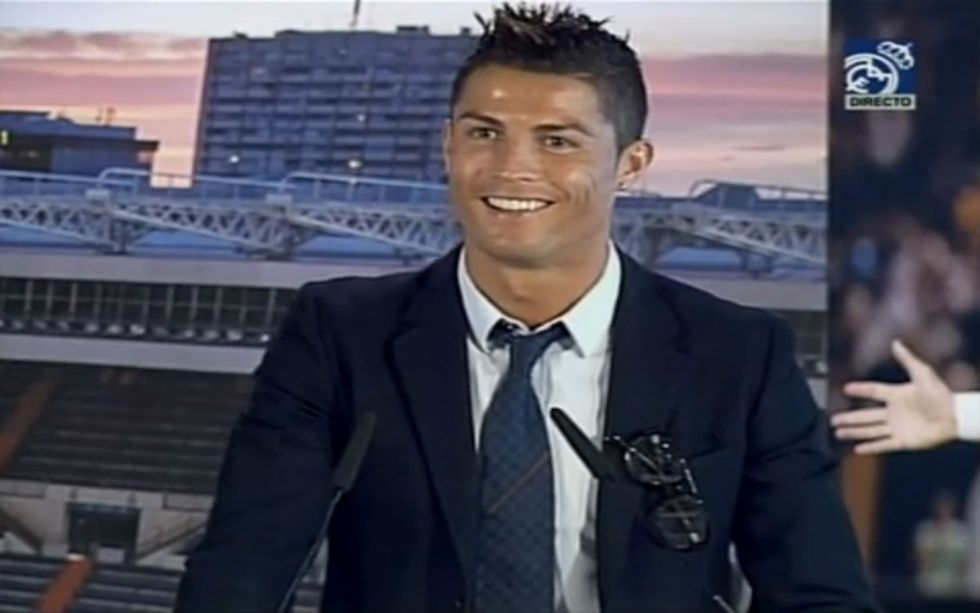 Cristiano Ronaldo: Manchester United is the past. Real Madrid is my club