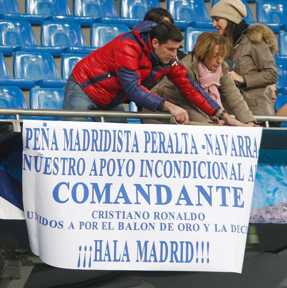 El Bernabéu homenajeó a CR7