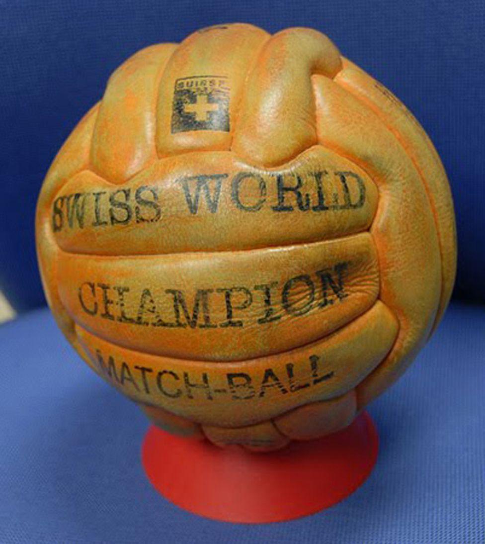 Los Balones de los diferentes Mundiales