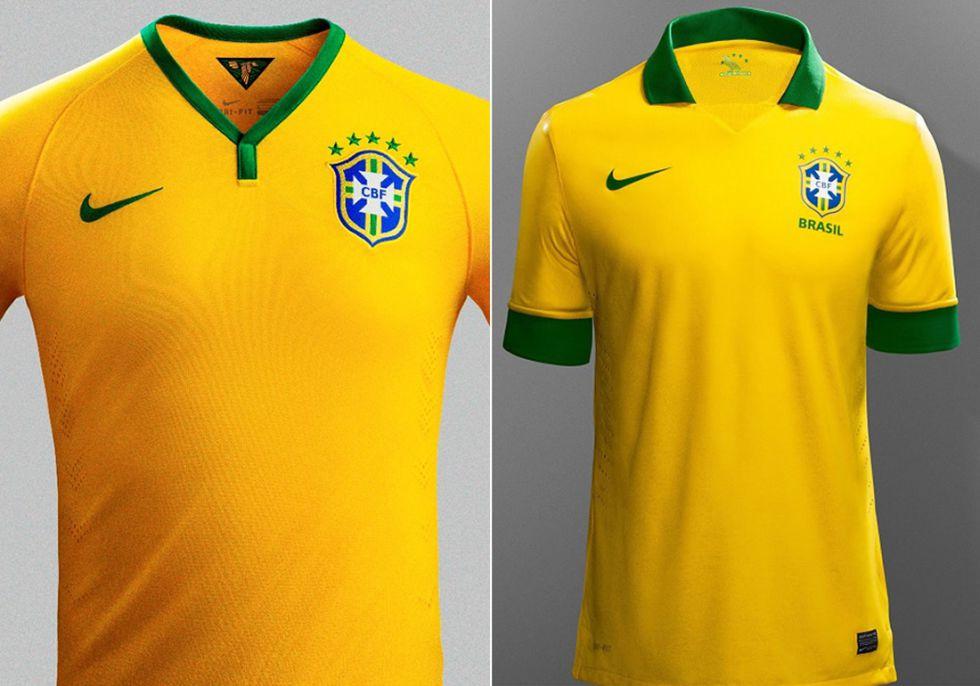 camiseta nike brasil 2015 28084f5d79721