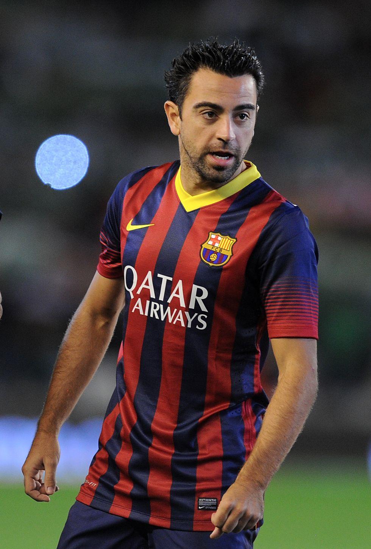 Xavi - Barcelona 2014