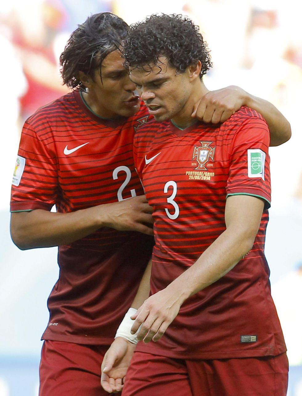 """პეპე: """"თავაწეულნი ვტოვებთ ბრაზილიას"""""""