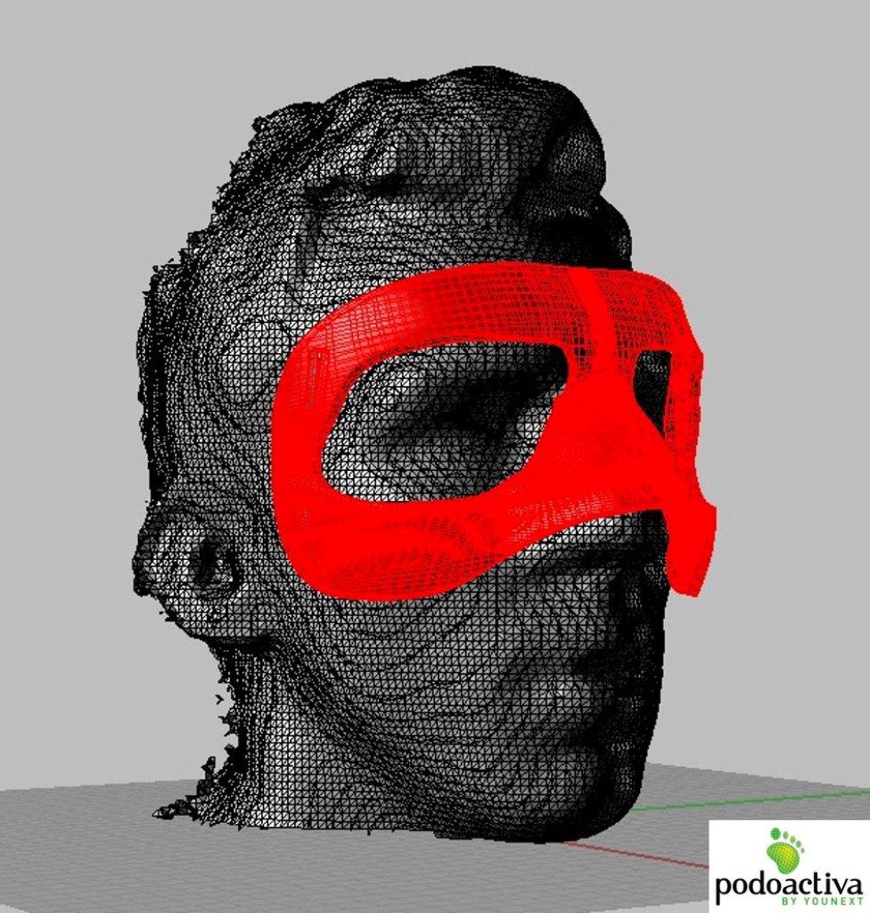 máscara impresión 3D