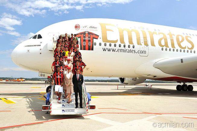 El AC Milan extiende patrocinio con Emirates hasta 2020 a cambio de 100 millones de euros