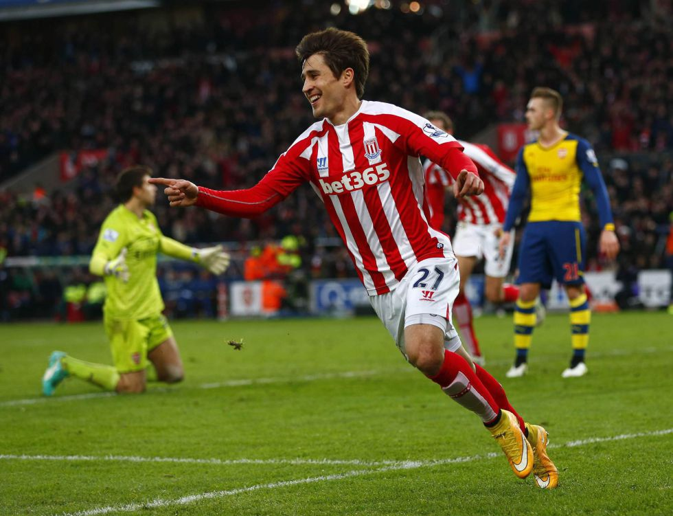 El Stoke, con Bojan en estado de gracia, desquicia al Arsenal | Internacional | AS.com