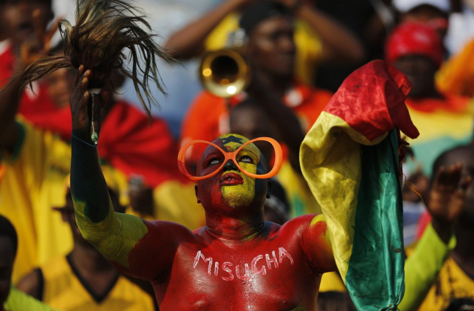 сборная Ганы, Кубок Африки, болельщики, сборная Алжира