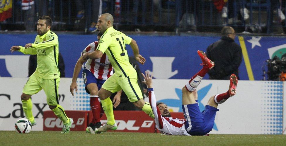 صور : مباراة أتليتيكو مدريد - برشلونة 2-3 ( 28-01-2015 )  1422473923_118684_1422479064_album_grande