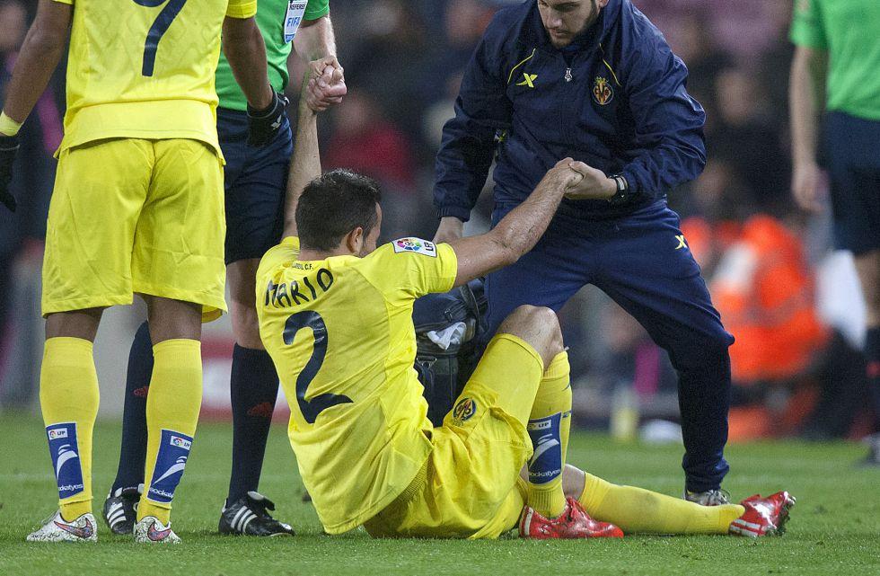 J. Dos Santos sufre una sobrecarga en el recto interno y Mario una ...
