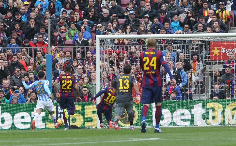 صور : مباراة برشلونة - ملقا  0-1 ( 21-02-2015 )  1424532480_739882_1424535958_album_grande