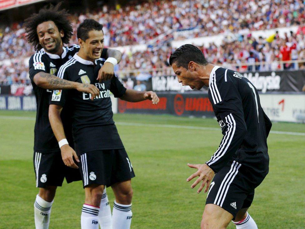 Sevilla-Real Madrid en imágenes