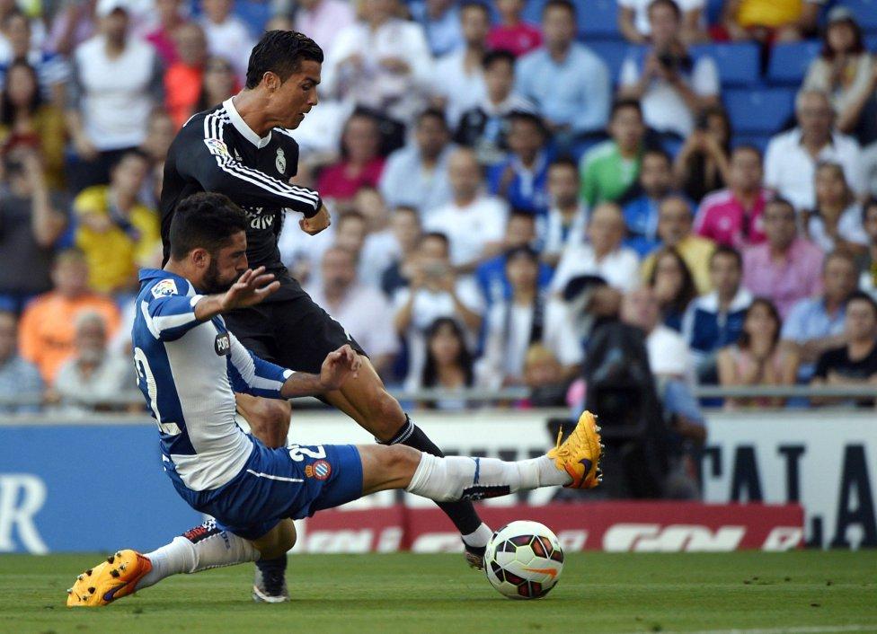Espanyol-Real Madrid en imágenes
