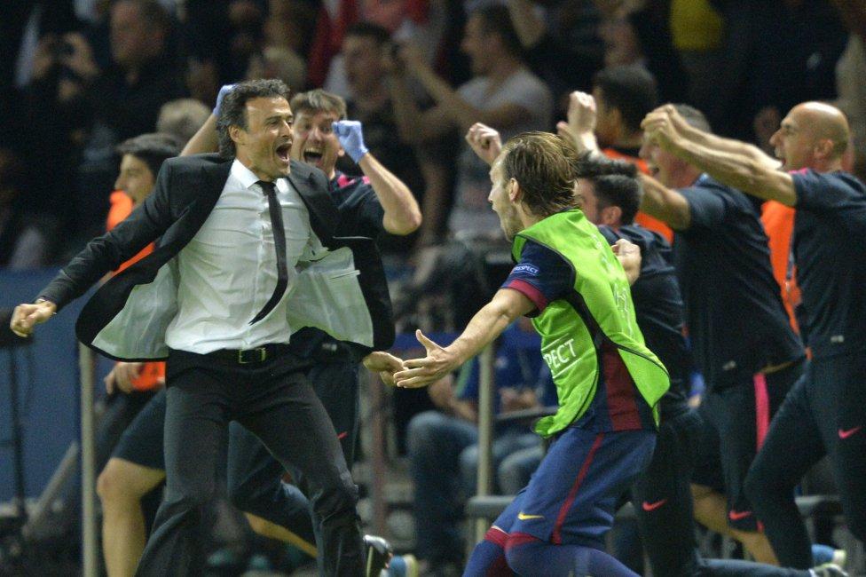 La final Juventus-Barcelona en imágenes