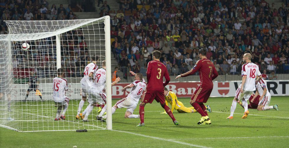 0–1: ესპანეთმა სტუმრად ბელორუსი დაამარცხა