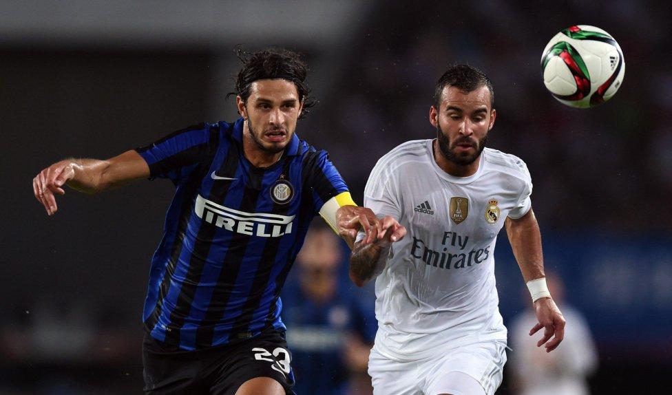 Las imágenes del Real Madrid-Inter de Milán