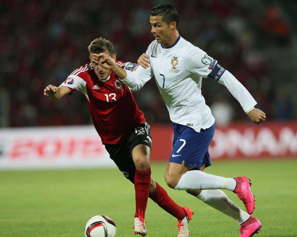 Albaniya - Portugaliya 0:1