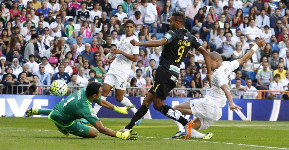 Real Madrid-Granada en imágenes