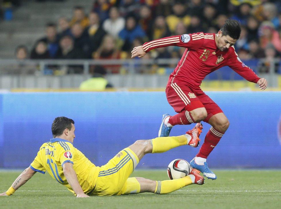 Ucrania-España en imágenes