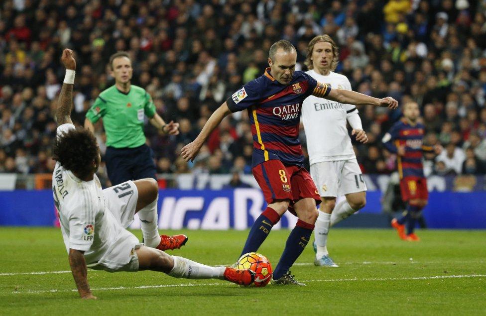 Real Madrid-Barcelona en imágenes