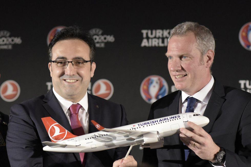 Turkish Airlines, patrocinador de la Eurocopa 2016