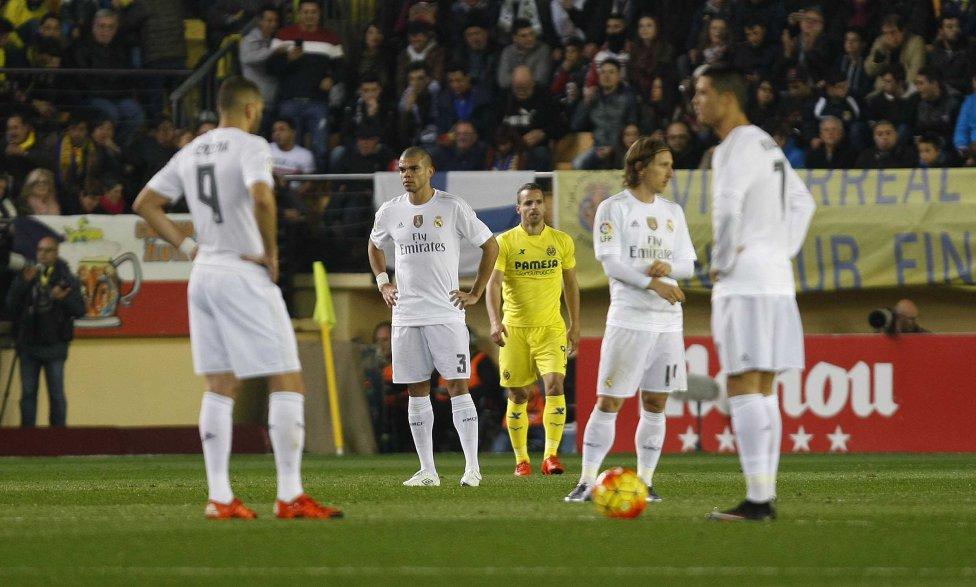 Villarreal-Real Madrid en imágenes