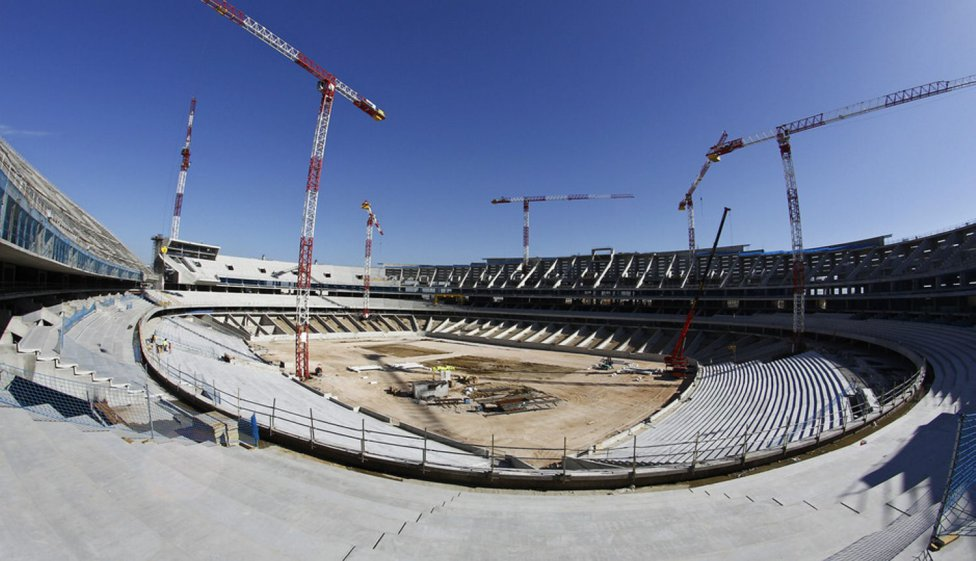 Nuevo estadio del Atlético de Madrid: La Peineta
