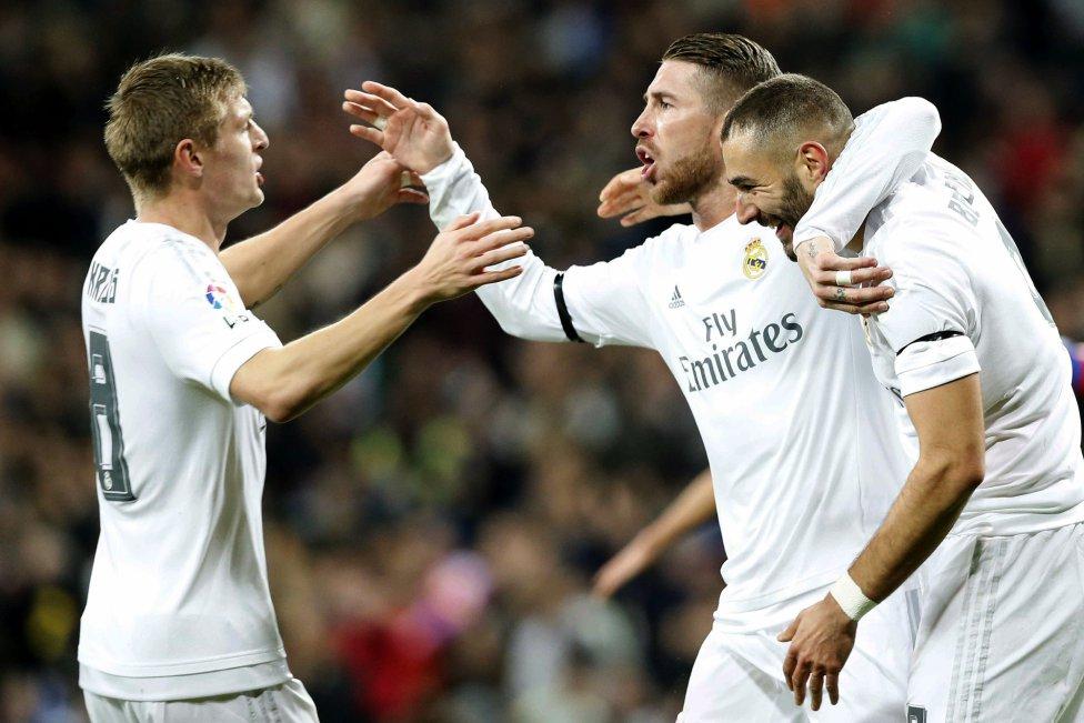 Real Madrid-Deportivo en imágenes