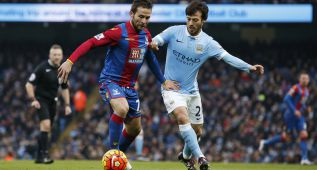 Football Soccer - Manchester City v Crystal Palace - Barclays Premier League - Etihad Stadium - 16/1/16