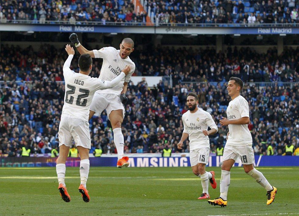 Real Madrid-Celta en imágenes