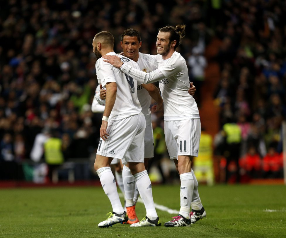 Real Madrid-Sevilla in pictures