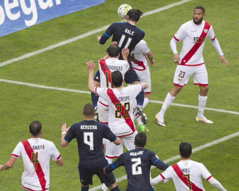 Bale marca el 2-1.