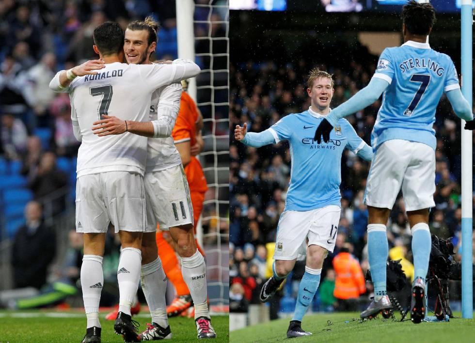 Manchester City – Real Madrid: un duelo de más de 1.000 millones en traspasos