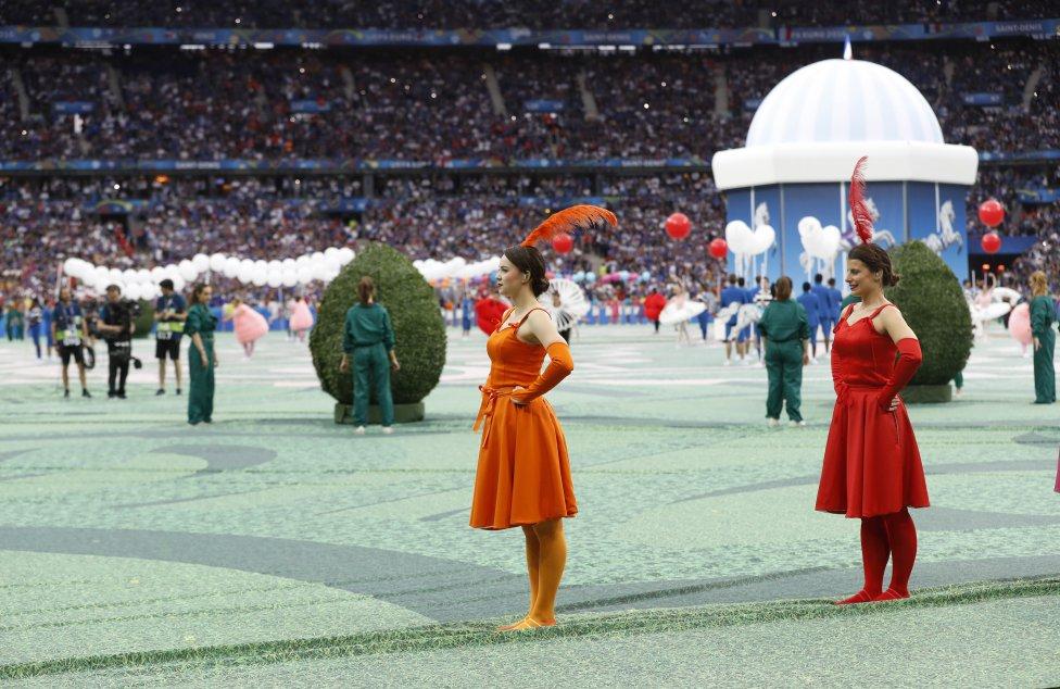 Las mejores imágenes de la inauguración de Francia 2016