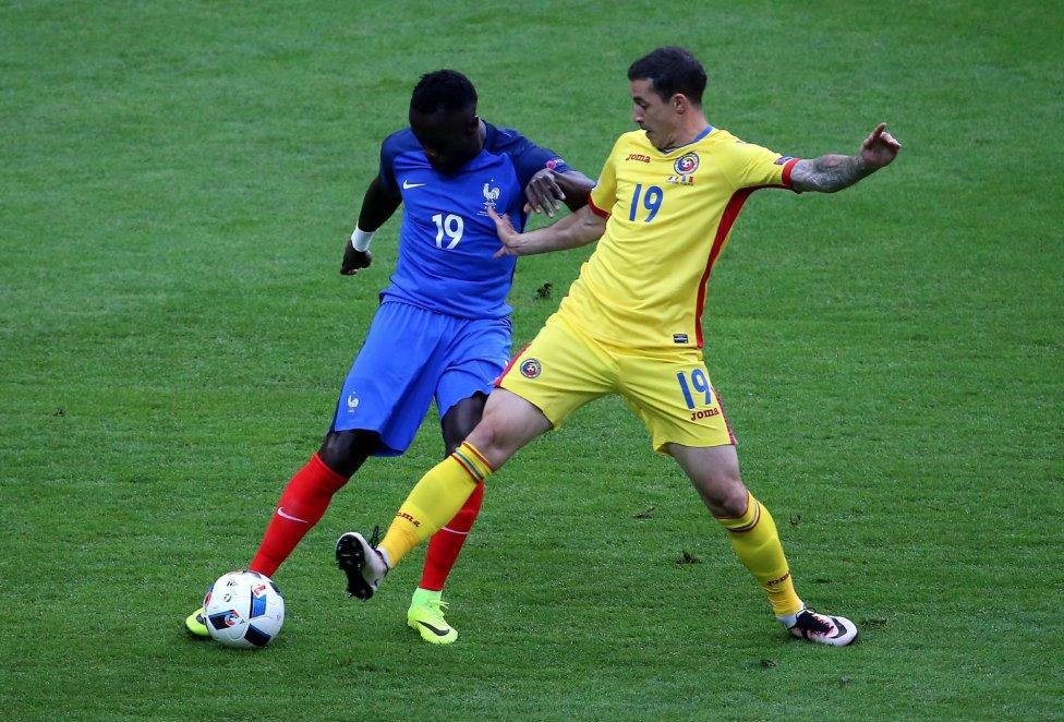 Francia-Rumania en imágenes