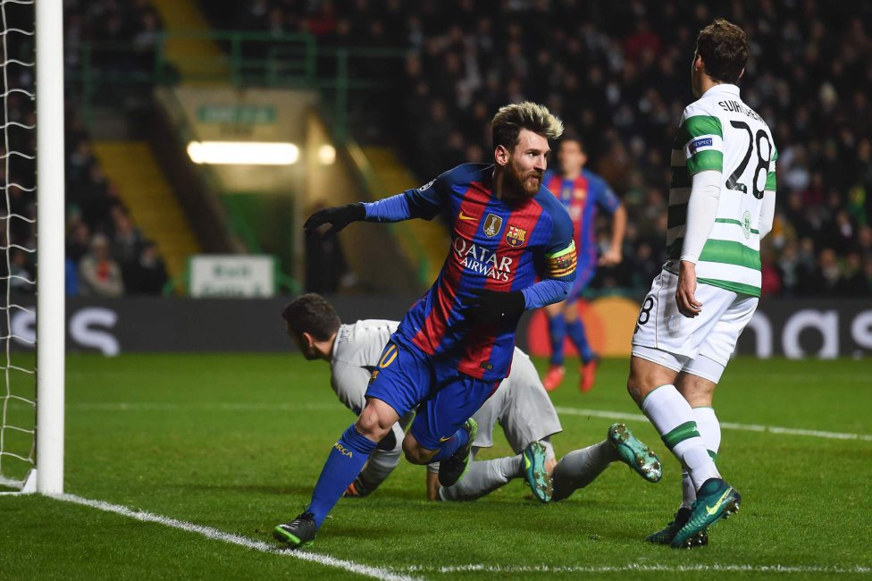 Celtic-Barcelona en imágene