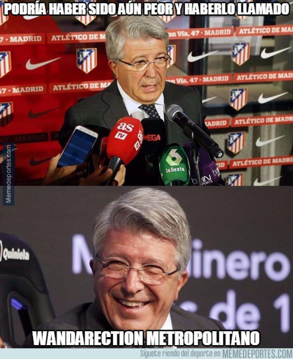 Los mejores memes del nuevo Wanda Metropolitano