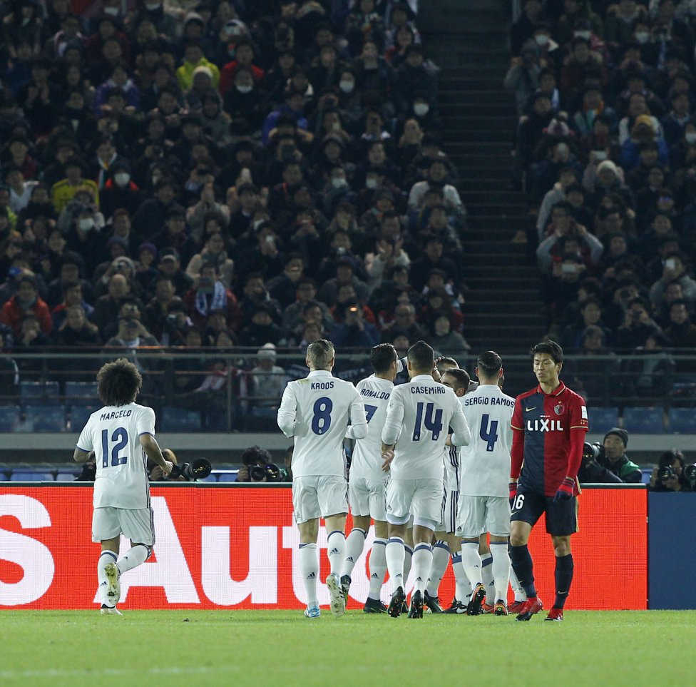 Benzema marca el 1-0.