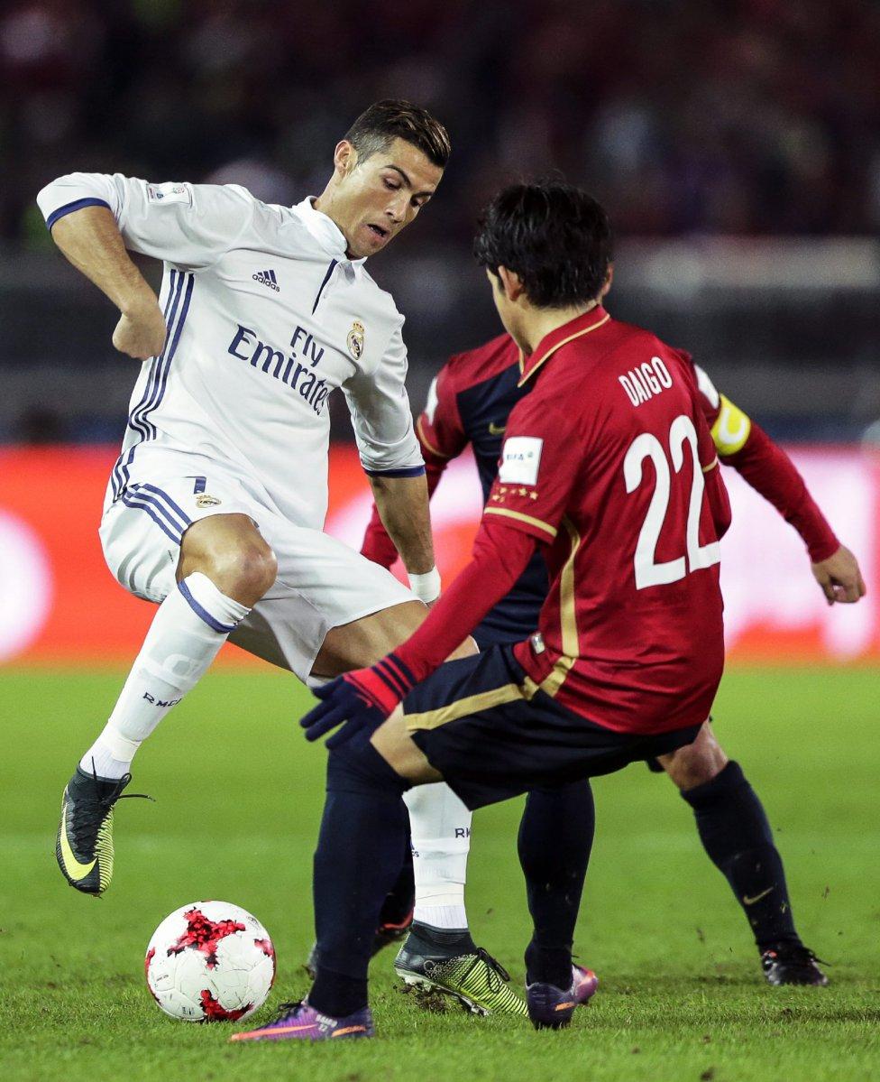 Daigo Nishi ante Cristiano Ronaldo.