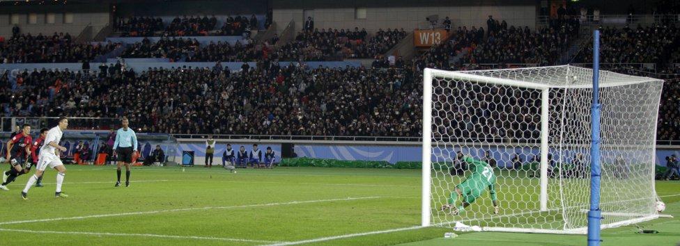 Cristiano, de penalti, empata el partido.