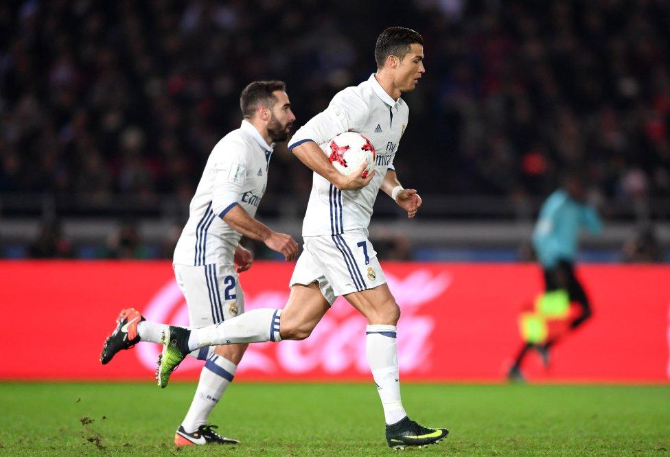 Cristiano Ronaldo, de penalti, empata el partido.
