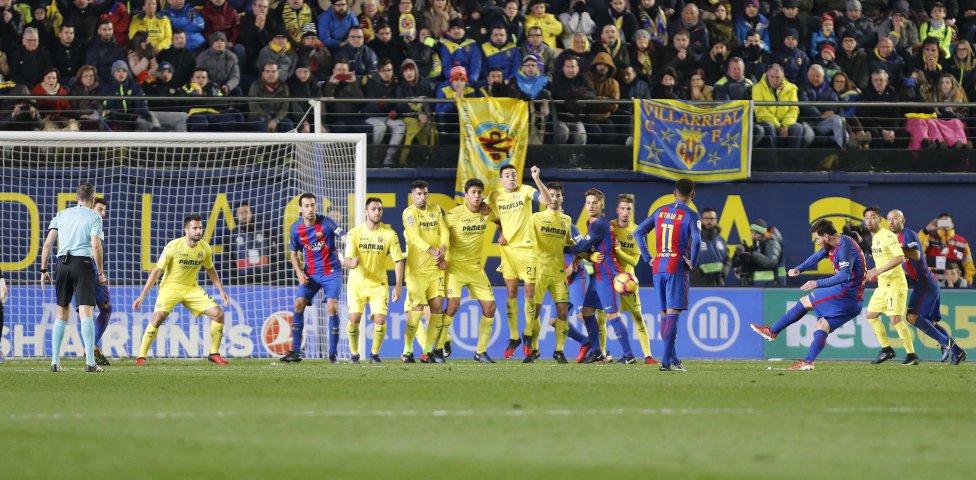 Villarreal-Barcelona en imágenes