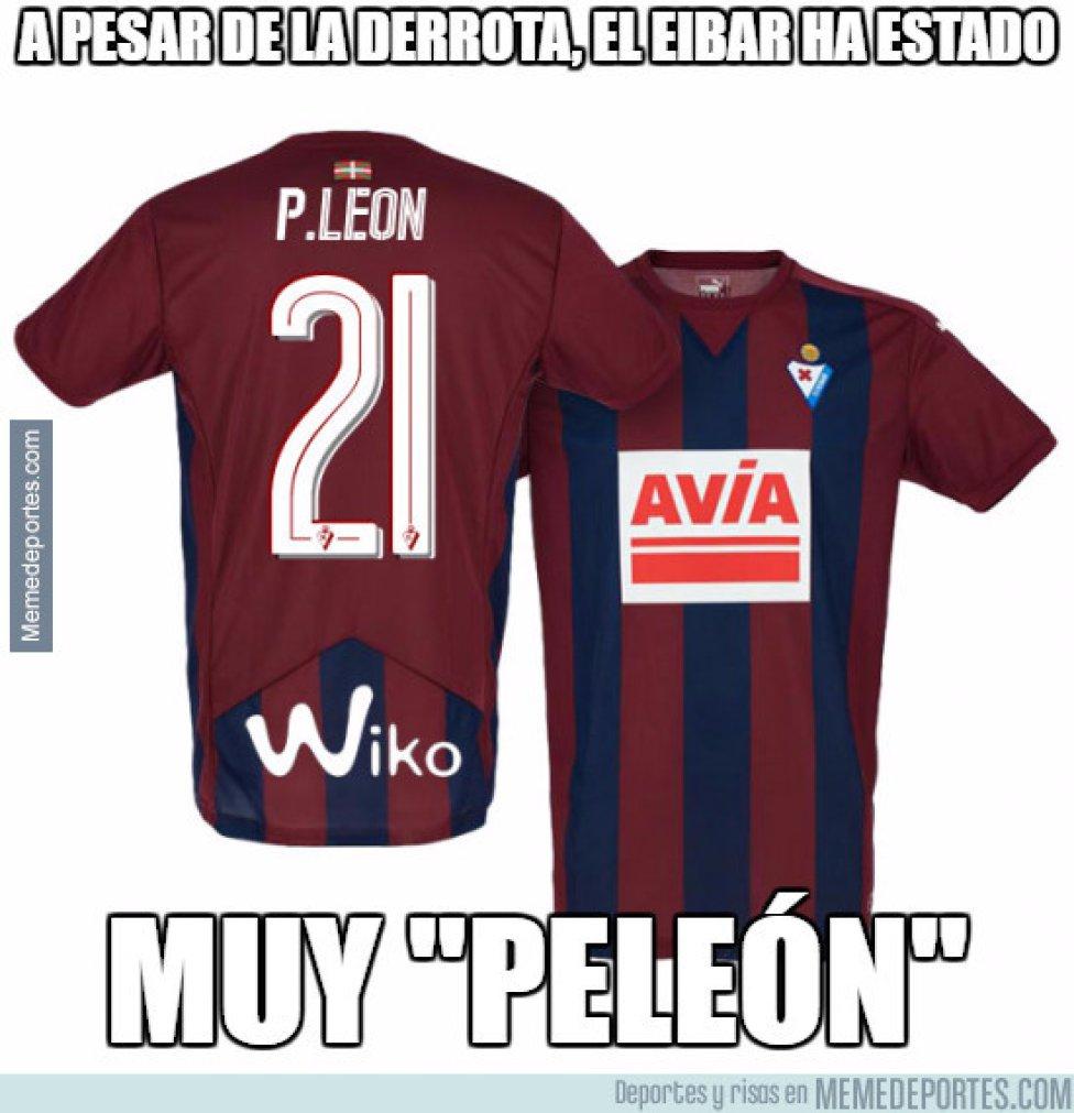 Los memes más divertidos del partido entre Eibar y Barcelona