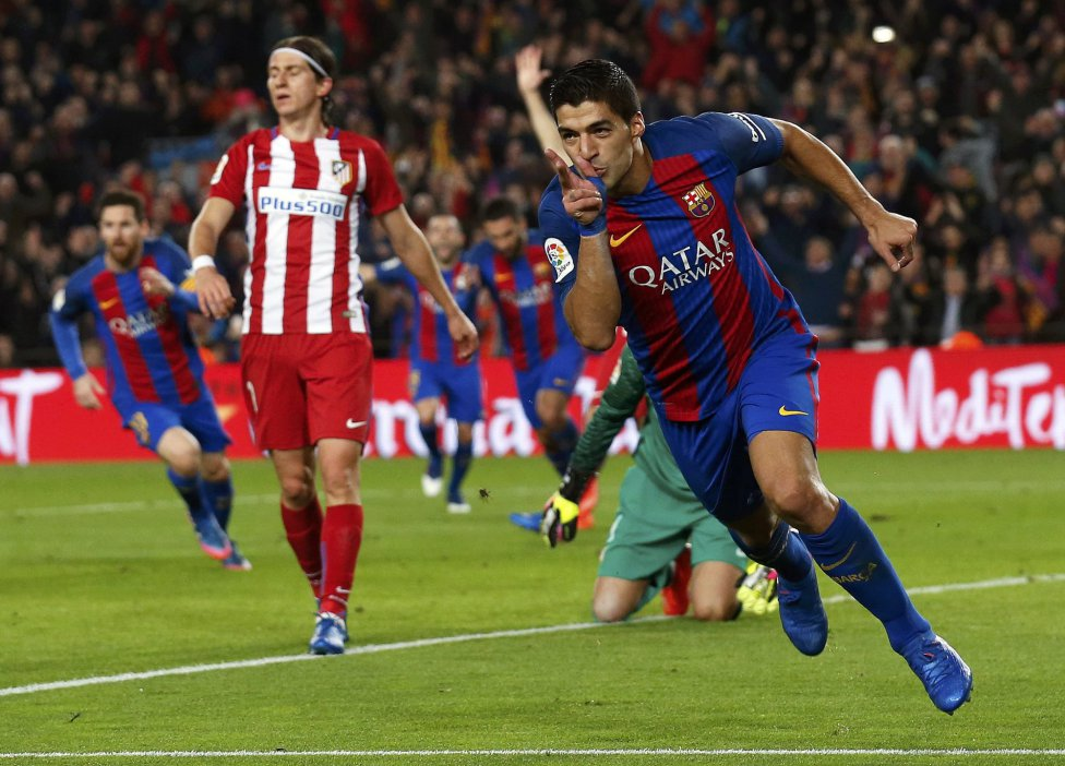 Barcelona-Atlético de Madrid en imágenes