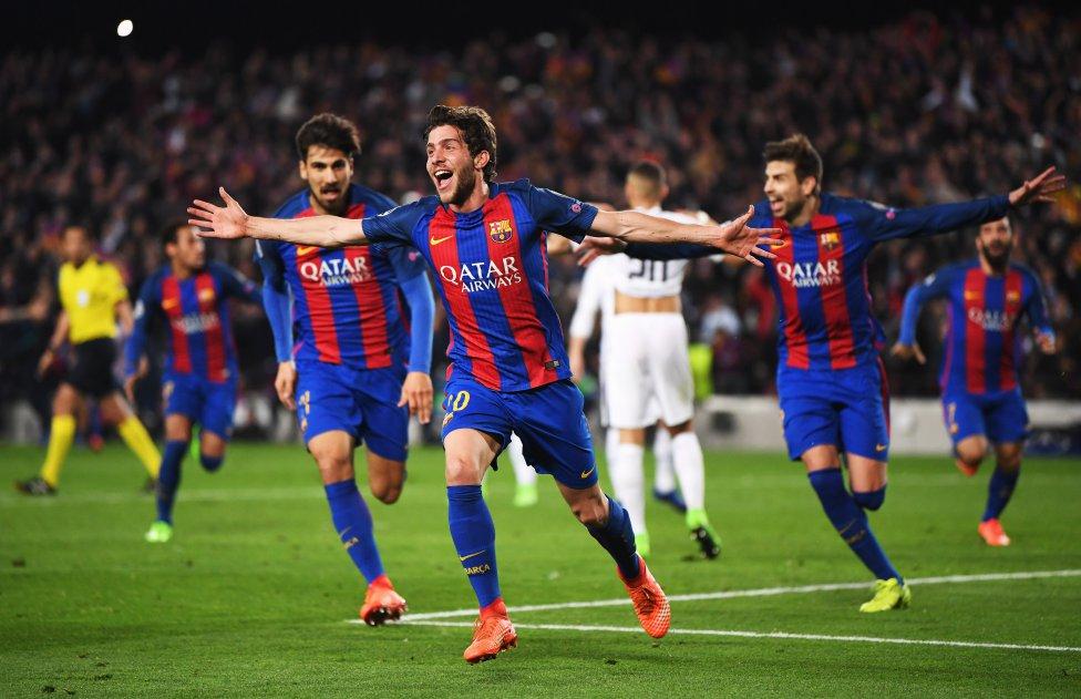 Barcelona-PSG en imágenes